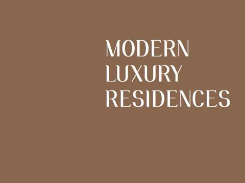 MODERN LUXURY RESIDENCES _book