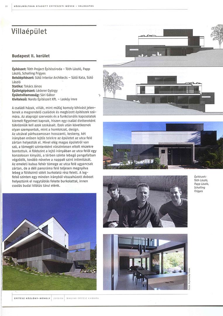 Építész közlöny/239 - Villaépület