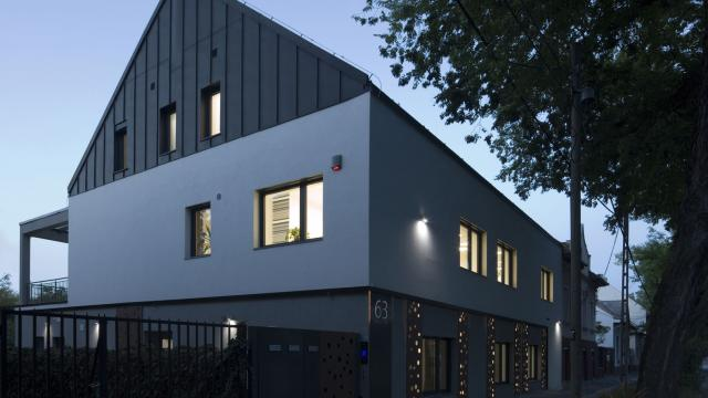 Budapest XIV. ker. - irodaépület, átalakítás